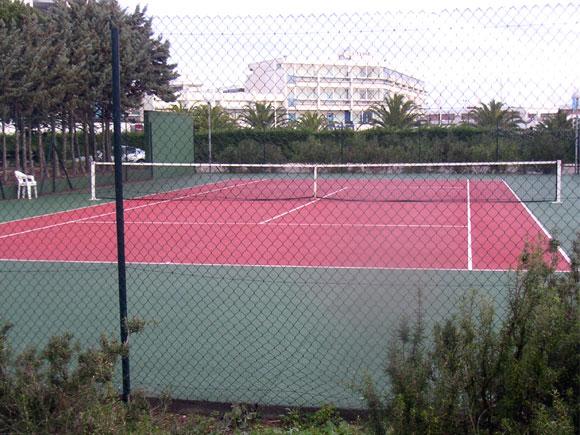 Terrain de tennis du Chabian